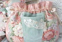 flower material bag