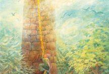 Sprookjes / Verhalen / Mooie afbeeldingen en tekeningen bij Sprookjes (o.a. van Grimm en Andersen) en bij fijne verhalen