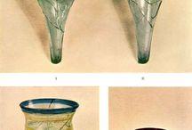 verre haut Moyen Âge