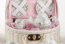 Child Girls Tea Party Tea Sets