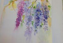 Fleur / Aquarelle