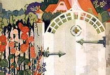 cottage illustrations
