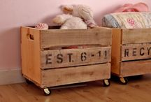 Room ideas for the kids / General ideas for storage and styling for all three kids / by Tracey Symonds