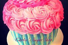 Chloe's cupcake 3rd birthday