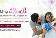 Diwali 2016 Offer Diamond and Gold Jewellery Collections / Send Diwali gifts to him or her with Zomint's Exclusive Jewellery Collection