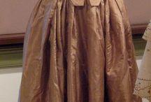 18 century women's  clothing