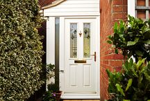 Entrance Doors Inspiration / The entrance to your home is one most important parts of your property, here's some inspirational ideas when deciding on what door is right for your property. For more inspiration and impartial advice http://www.myglazing.com/be-inspired/