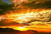 Sunsets & Sunrises / All pics of sunrises and sunsets I have taken myself