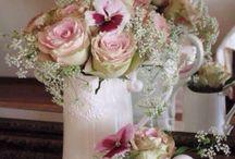 Romantisk blomster