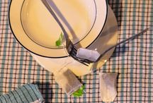 Still life examples using a variety of kitchen objects and DOF
