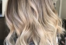 Short Balayage Hair Blonde