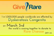 Give RARE Campaign / A campaign done for Rare Disease day for Rare Disease groups to raise monies to support their patient advocacy initiatives