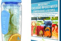 New InfuseFruit 32 oz with a Full-length Rod in Azure / This board shows an improved version of the InfuseFruit bottles that you've  all loved. With a longer infuser rod, you can now add more fruits and herbs inside! You no longer have to tilt the bottle because your water gets infused to the last drop!