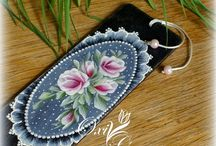 Rose Paintings / Painted Flowers / by Elizabeth Lennon