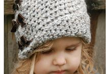 crochet hats fot the small ones
