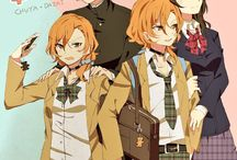 Bungou stray dogs on reverse