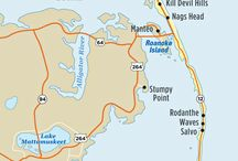 Map of Outer Banks / Maps of the Outer Banks, NC