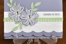 SU; Flower Shop cards