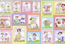 You Golf Girl! Fabric