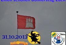 Hurra Hamburg Halloween 2013