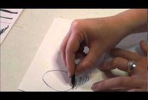 masterclass1 houtskool / teken-en schildertechnieken