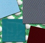 Types of fabric we offer / Textiles we have and what they are used for.