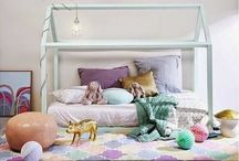 Bed house frame