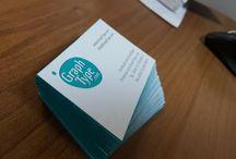 Business cards - LetterPress Printing