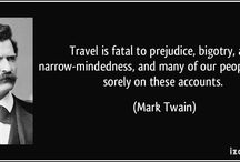 Writers' Quotes About Travel / Writers' quotes about travel