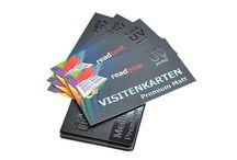Visitenkarten - Fotogalerie / Angebot an Visitenkarten