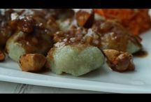 Kluski z tartych ziemniaków