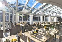 Speisen mit Zugspitzblick / Das Restaurant Werdenfels
