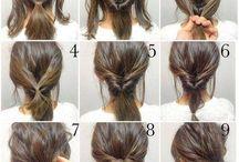 Frisuren tutorial