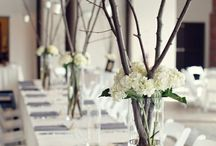 Un mariage tout blanc / Par ici vous trouverez de très jolies inspirations pour un mariage sur le thème du blanc.