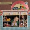 Scrapbooking: Six and up / Layouts featuring six or more