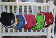 Monogrammed items / by Megan Frazier