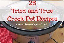 Crock pot recipesq / by Sandy Palmer