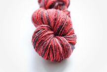 OvilabYarns - Bright Skinnies / Handspun & Hand-dyed yarns