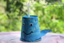 Paper cup crafts / Paper cup crafts, recycle paper cups