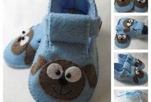 Make baby shoes