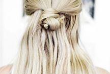 Halb-Dutt-Trend / Haare hoch