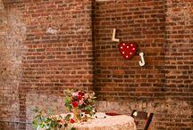 Sweetheart Table / Wedding Sweetheart Table Inspiration