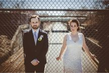 Anna and Bret's colorful wedding.  All photographs by the Abby Lorenz and flowers by me!