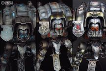 Imperial Knights freehand showcase