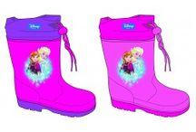 Botas de agua / Botas de agua de marcas infantiles con licencia para la temporada Invierno 2015/16