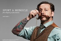 Moustaches and Monocles / by Kim Steeno