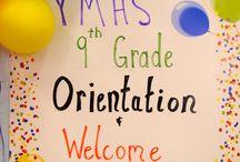 YMHS 9th Grade Family Breakfast / It takes a village, a school, a family.