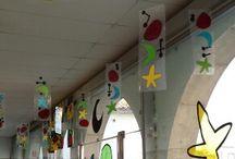 En el aula - Miró
