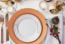 Christmas Table / Christmas Table inspiration #chirstmastable #christmastabledecoration #christmastablearrangement #inspiration #christmastime #christmasdinner #christmaslunch