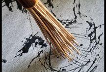 Hand Made Art Paint Brush